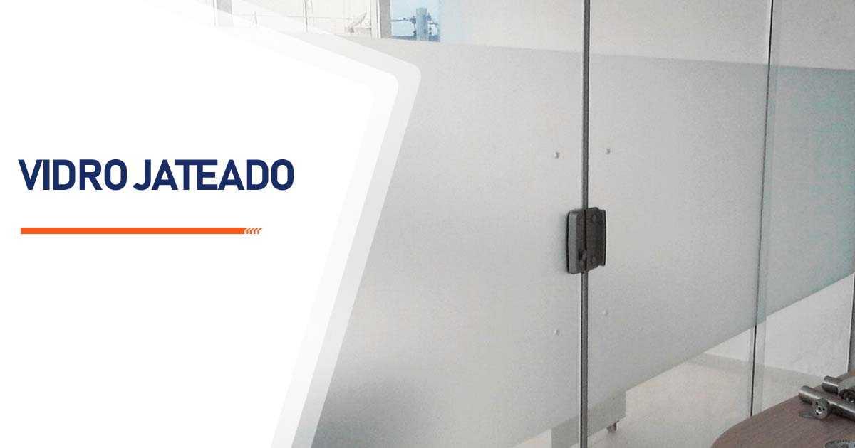Vidro Jateado