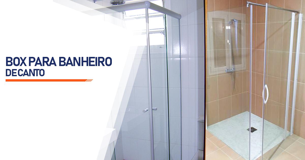 Box de Canto para Banheiro  Curitiba