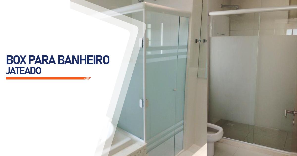 Box Jateado para Banheiro Curitiba