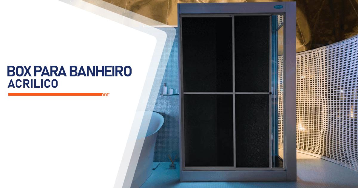 Box para Banheiro Acrílico Curitiba