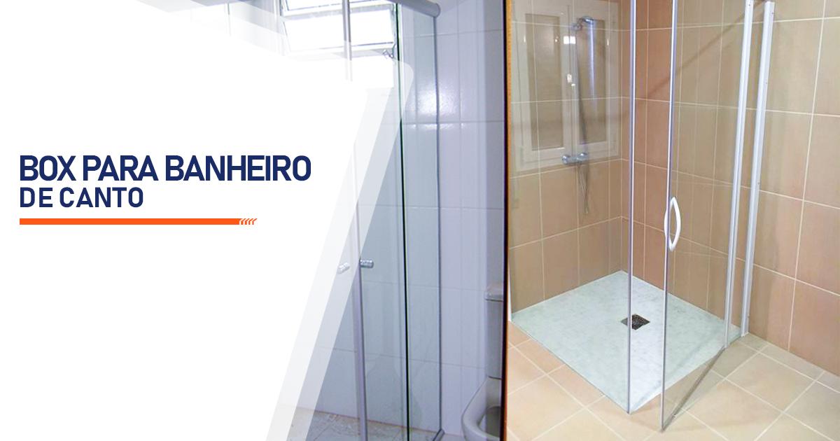 Box para Banheiro de Canto Curitiba