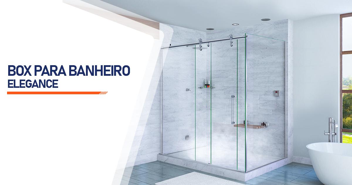 Box para Banheiro Elegance  Curitiba