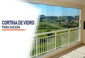 Cortina de Vidro para Sacada Curitiba