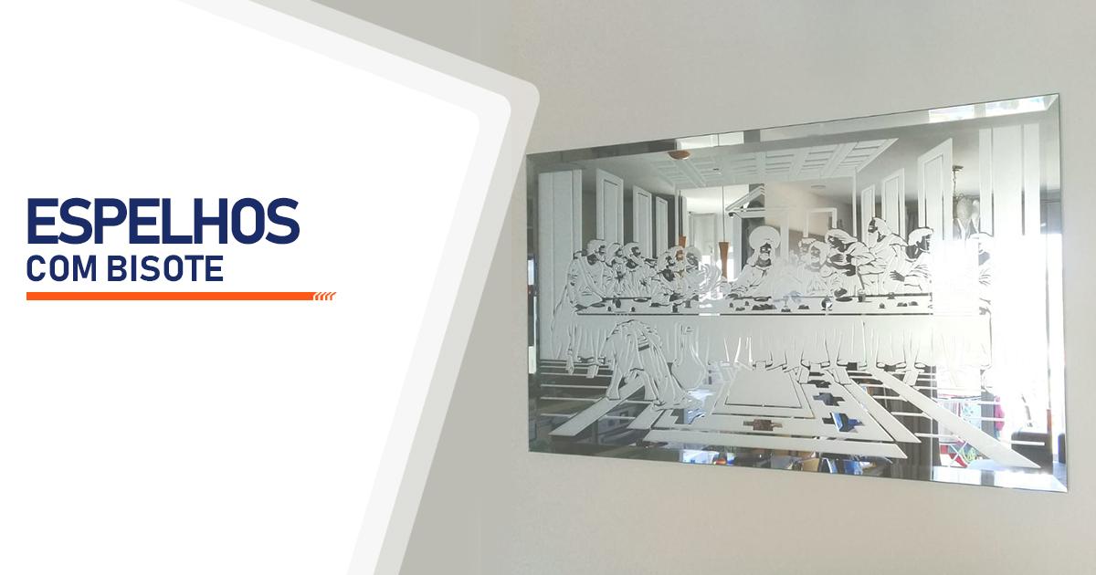 Espelhos com Bisote Curitiba