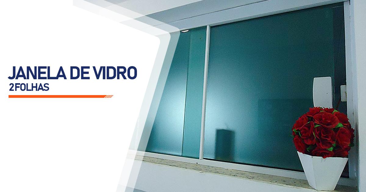 Janela De Vidro 2 Folhas Curitiba