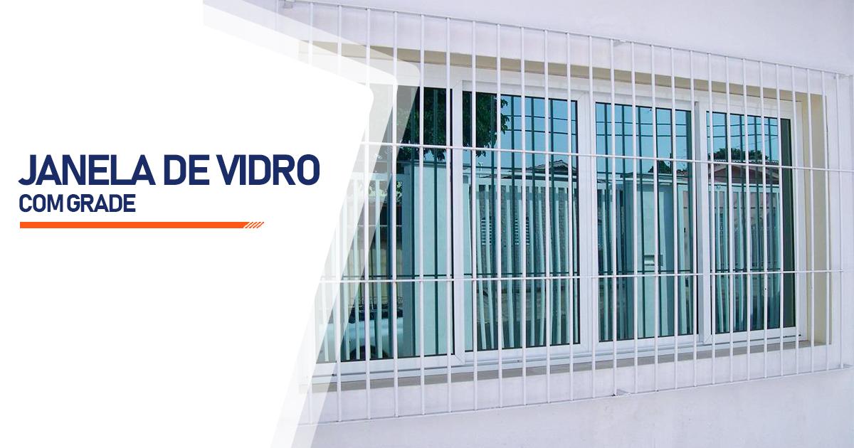 Janela De Vidro Com Grade Curitiba
