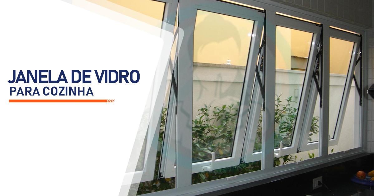 Janela de Vidro para Cozinha Curitiba
