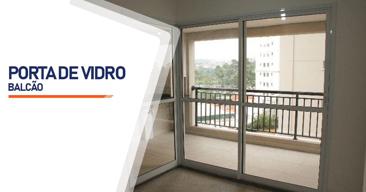 Porta Balcão De Vidro Curitiba