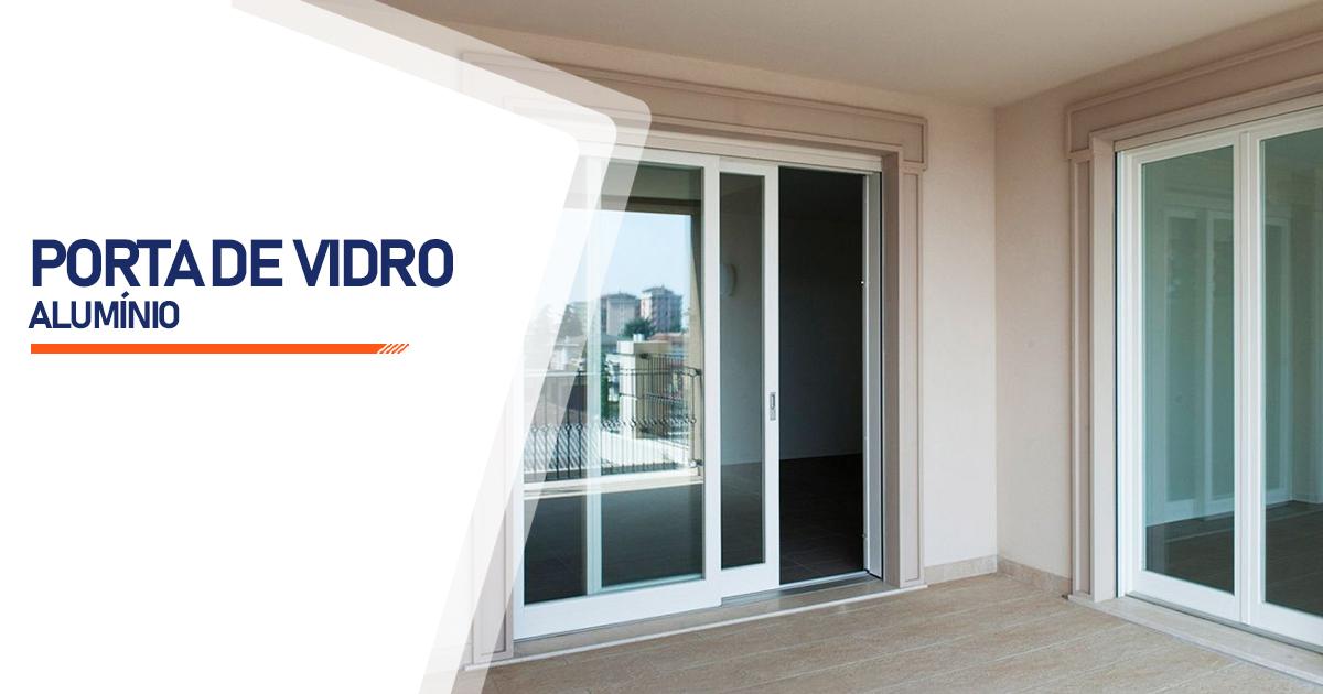 Porta De Vidro Aluminio Curitiba