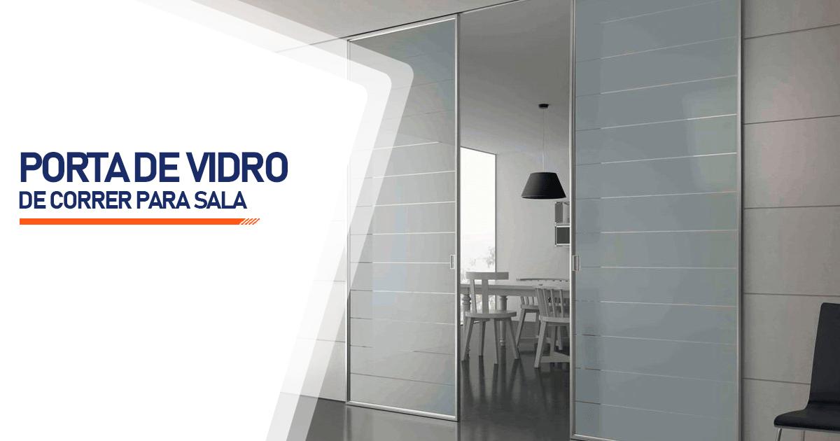 Porta De Vidro De Correr Para Sala Curitiba