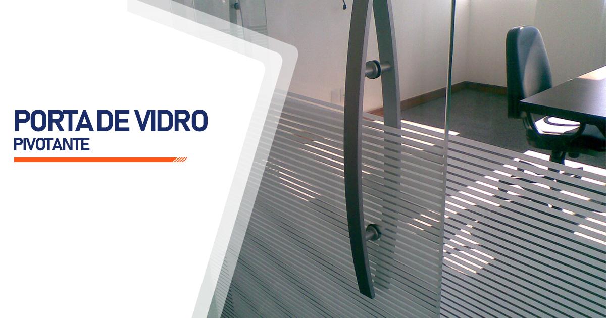 Porta Pivotante De Vidro Curitiba