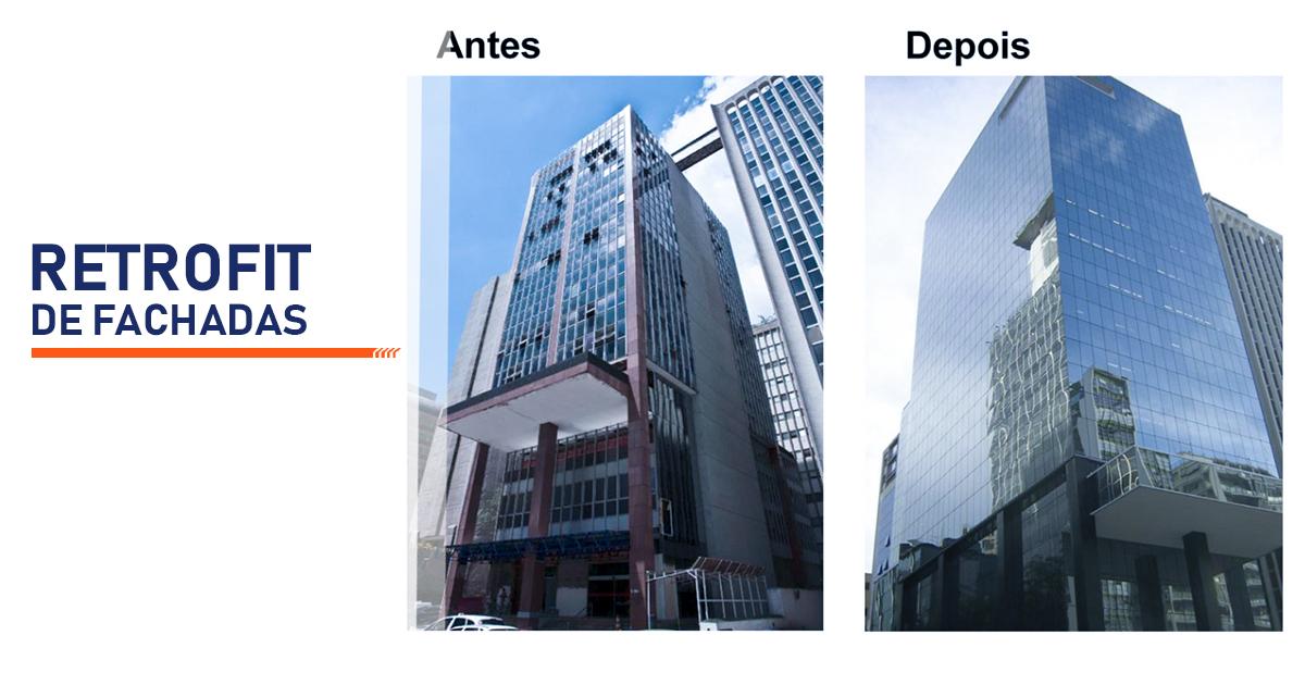 Retrofit de Fachadas Curitiba