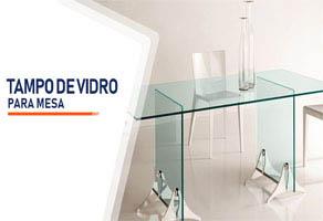Tampo de Vidro Para Mesa Curitiba