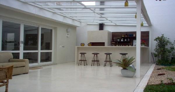 Telhado de Vidro para Churrasqueira Curitiba